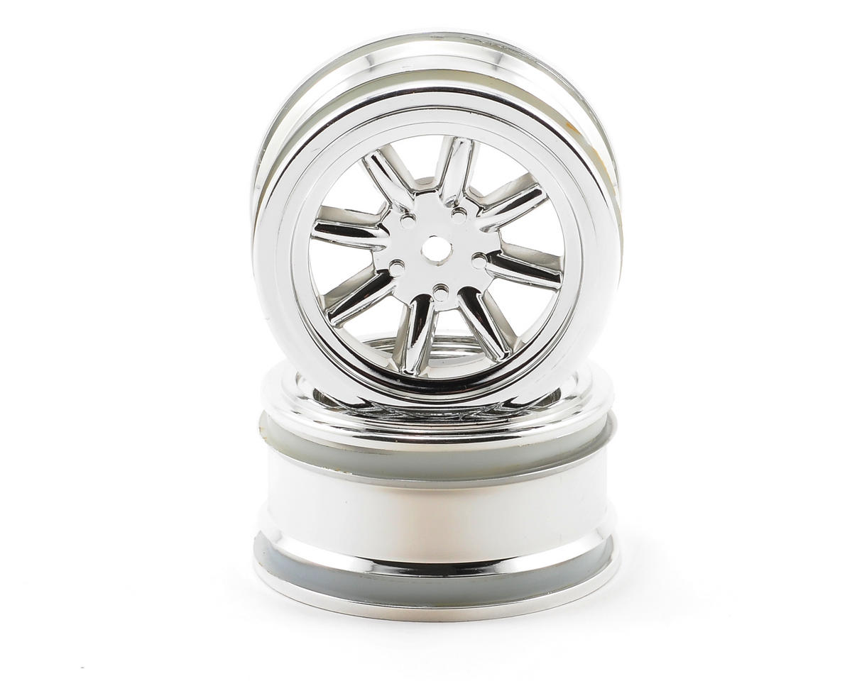 HPI Racing 26mm Vintage 8 Spoke Wheel (2) (Chrome)