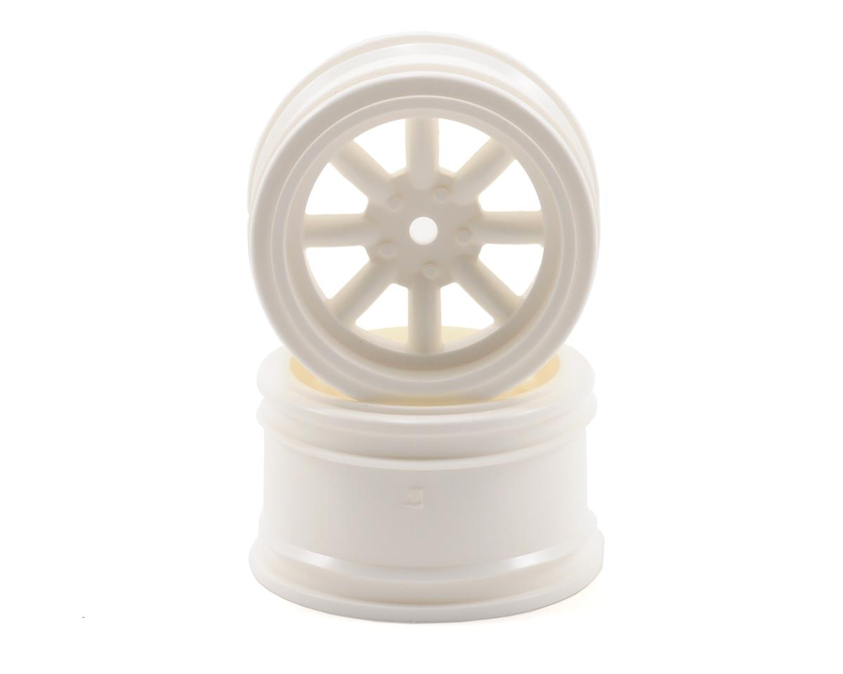 HPI Racing 12mm Hex 31mm Vintage 8 Spoke Wheel (2) (White)