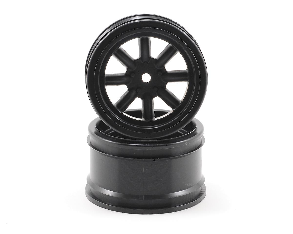 HPI Racing 31mm Vintage 8 Spoke Wheel (2) (Black)