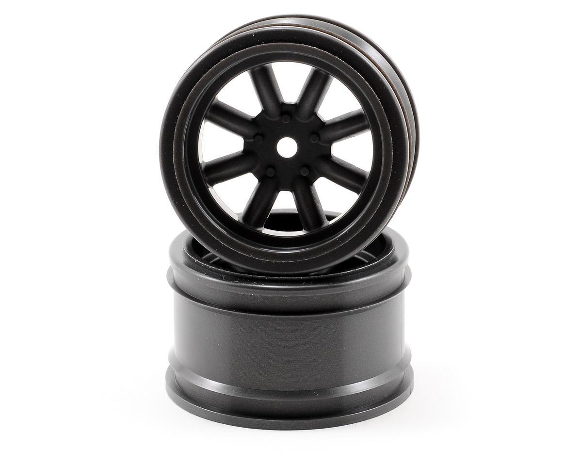 HPI Racing 31mm Vintage 8 Spoke Wheel (Gun Metal) (2)