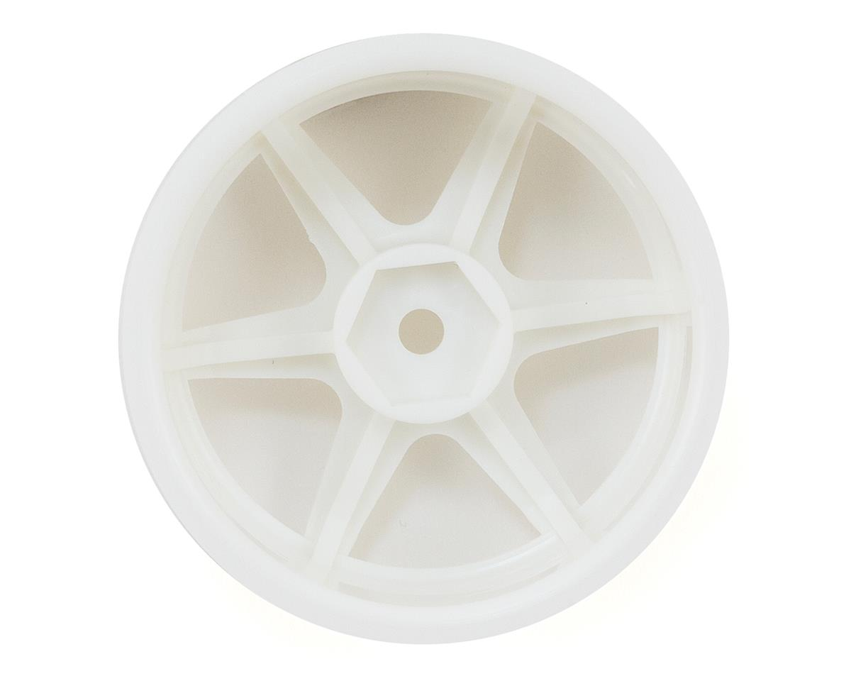 26mm TE37 Wheel (White) (2) (3mm Offset) by HPI