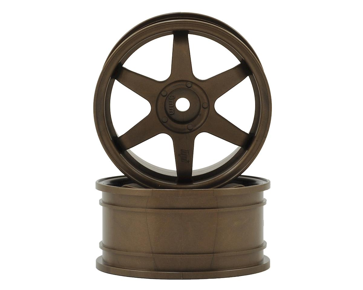 HPI 26mm TE37 Touring Car Wheel (Bronze) (2) (3mm Offset)