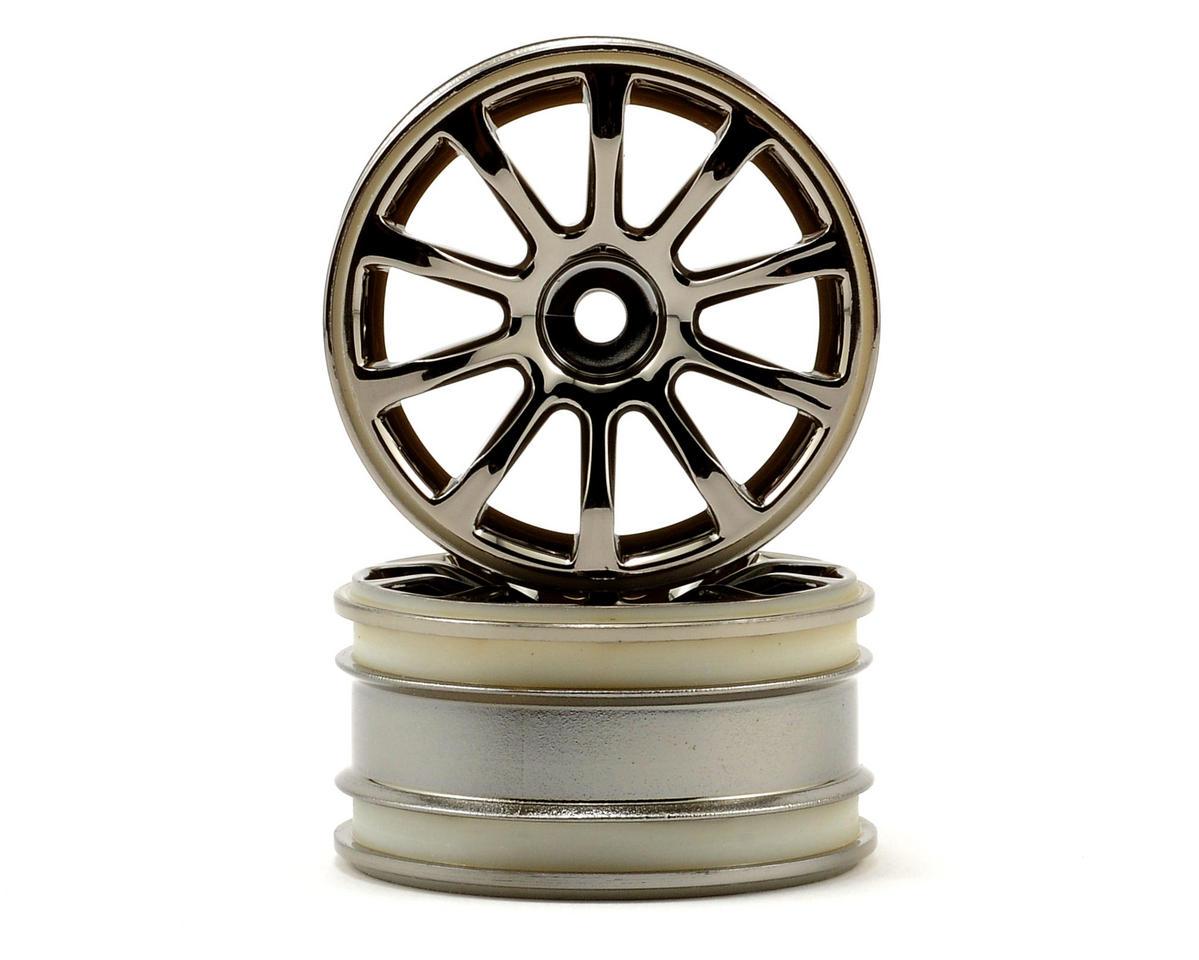 HPI Racing MX60 10 Spoke Wheel (Black Chrome) (2)