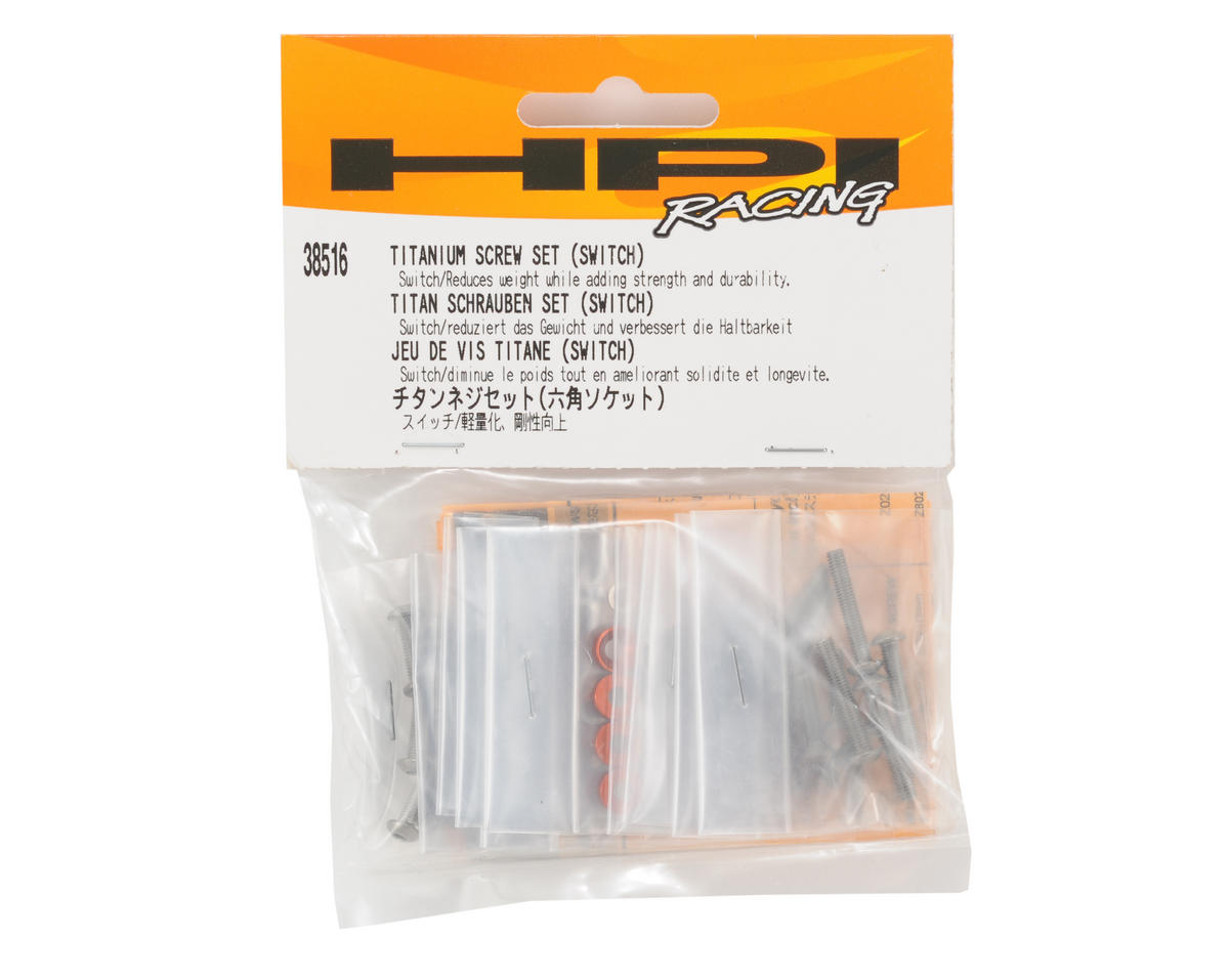 HPI Racing Titanium Screw Set