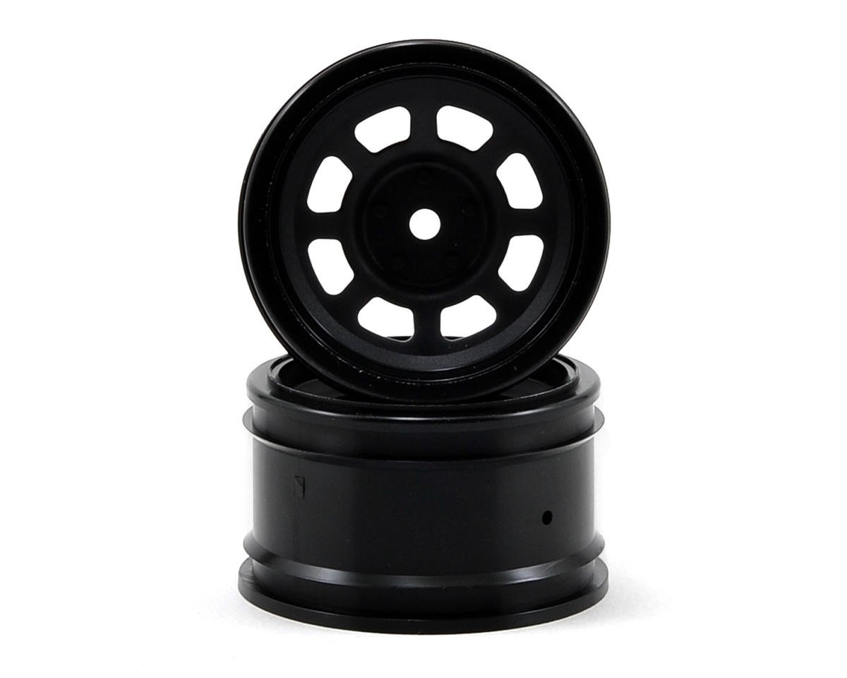 HPI 12mm Hex 31mm Vintage Stock Car Wheel (2) (6mm Offset) (Black)