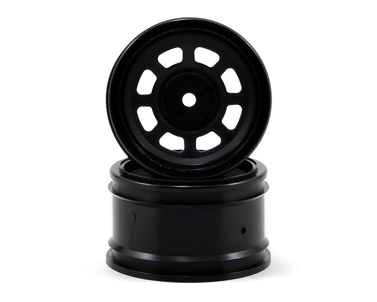 HPI Racing 12mm Hex 31mm Vintage Stock Car Wheel (2) (6mm Offset) (Black)