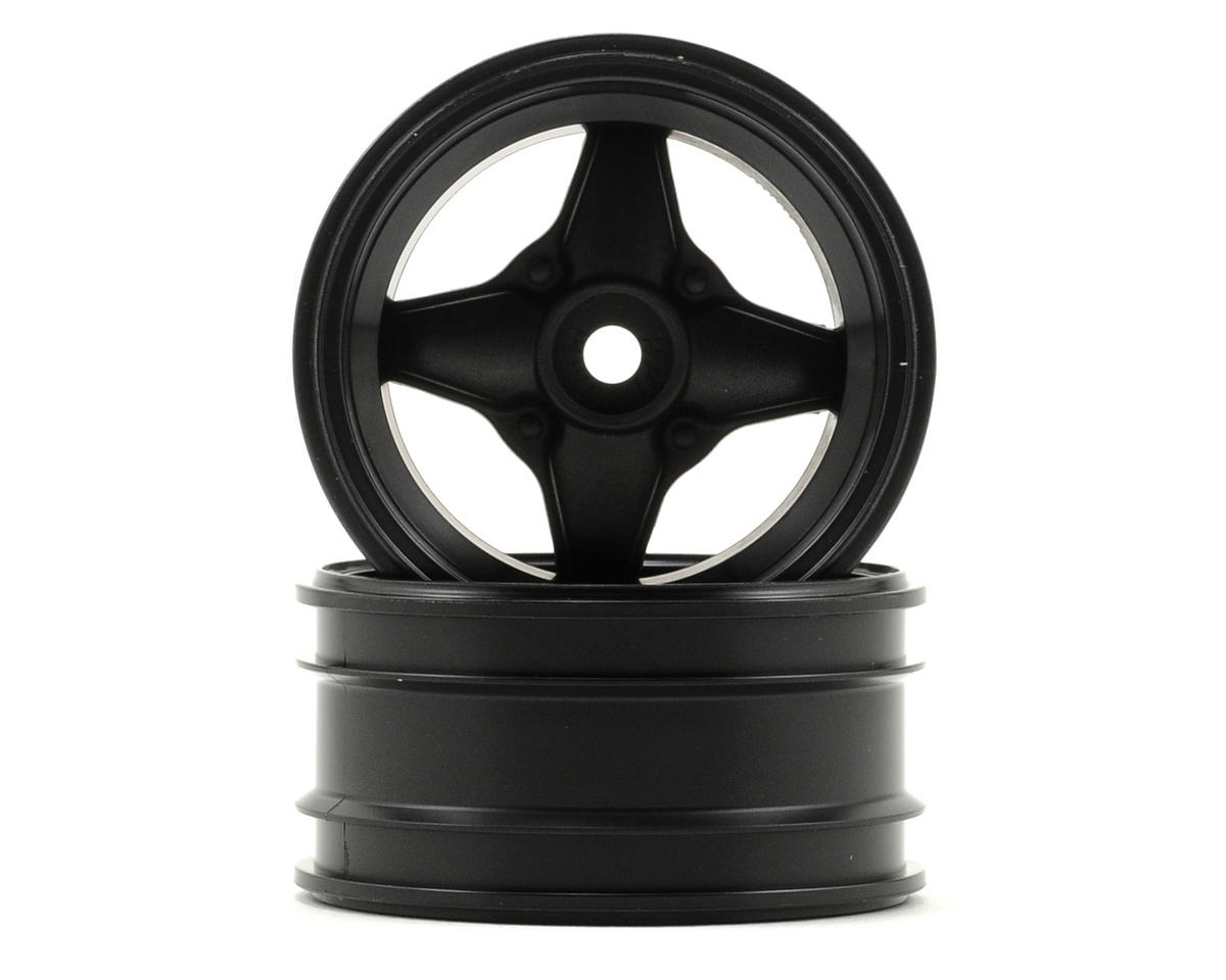 HPI Racing MX60 4 Spoke Wheel (Black) (2) (3mm Offset)