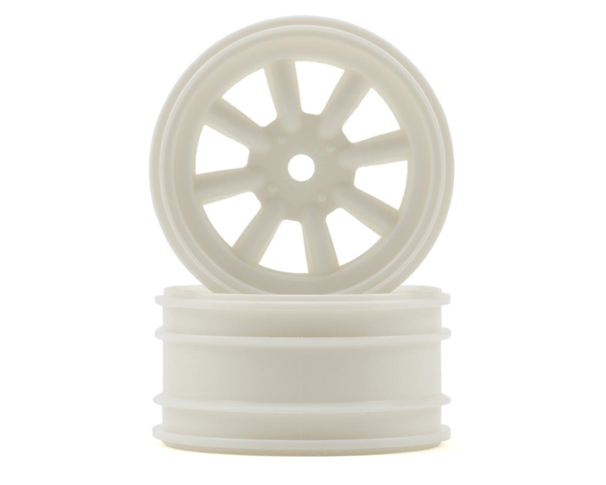 HPI Racing 12mm Hex MX60 8 Spoke Wheel (2) (0mm Offset) (White)
