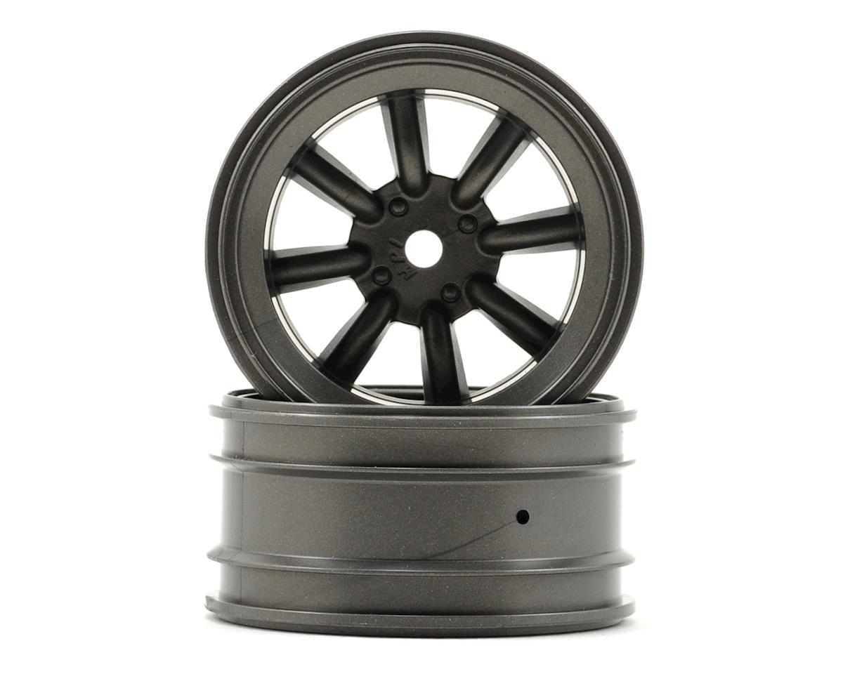 HPI MX60 8 Spoke Wheel (2) (0mm Offset) (Gun Metal)