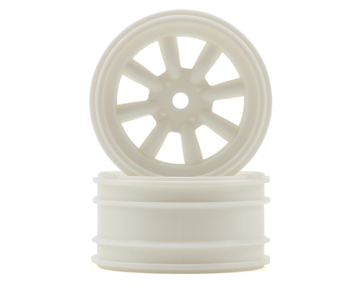 HPI Racing Cup Racer MX60 8 Spoke Wheel (2) (3mm Offset) (White)