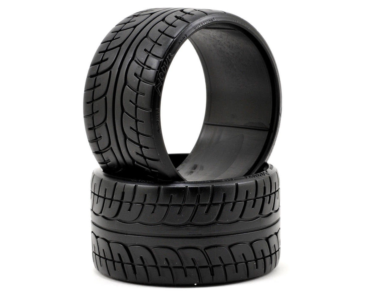 "HPI Racing ""Yokahama Meova AD07"" T-Drift Tire (2) (LP35)"