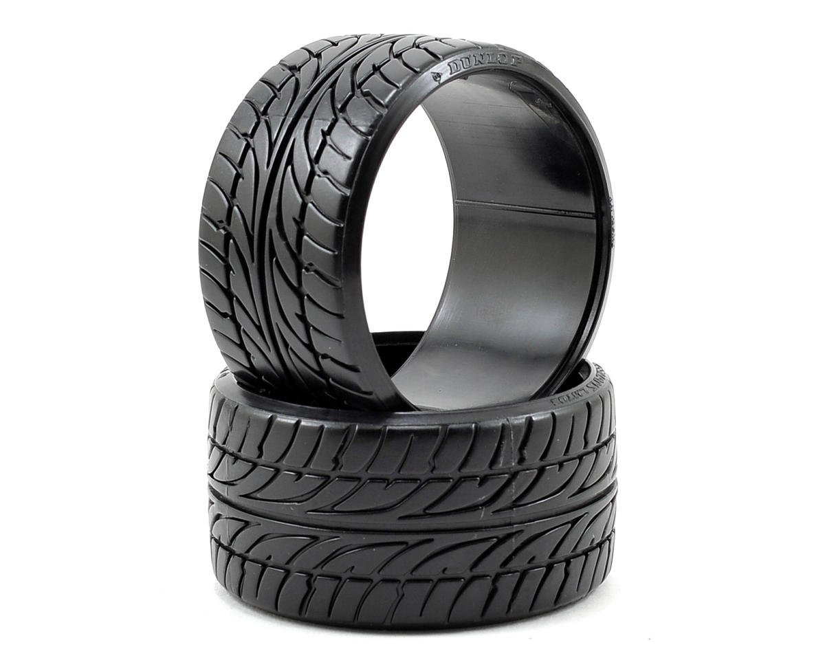 "HPI Racing ""Dunlop Le Mans LM703"" T-Drift Tire (2) (LP35)"