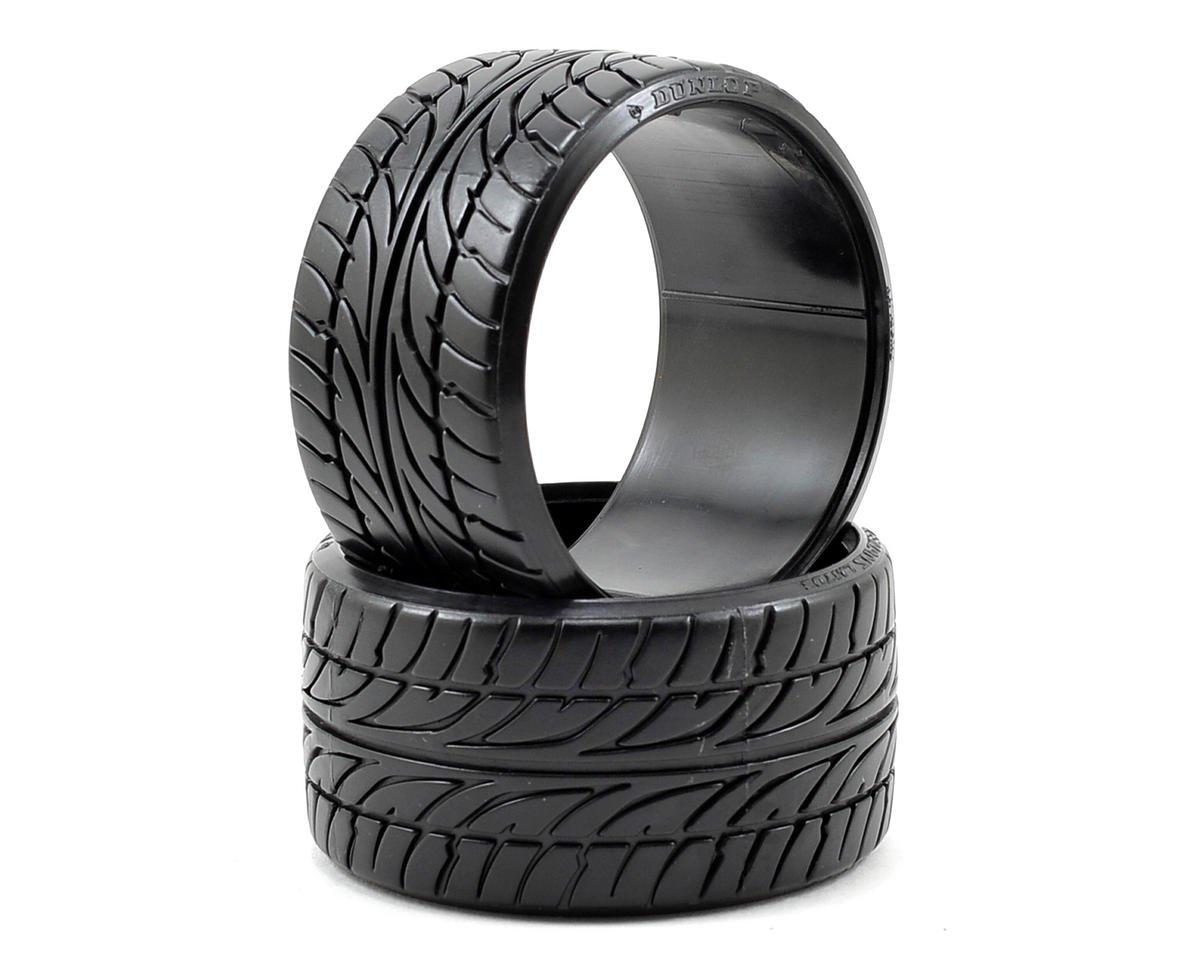 """HPI """"Dunlop Le Mans LM703"""" T-Drift Tire (2) (LP35)"""