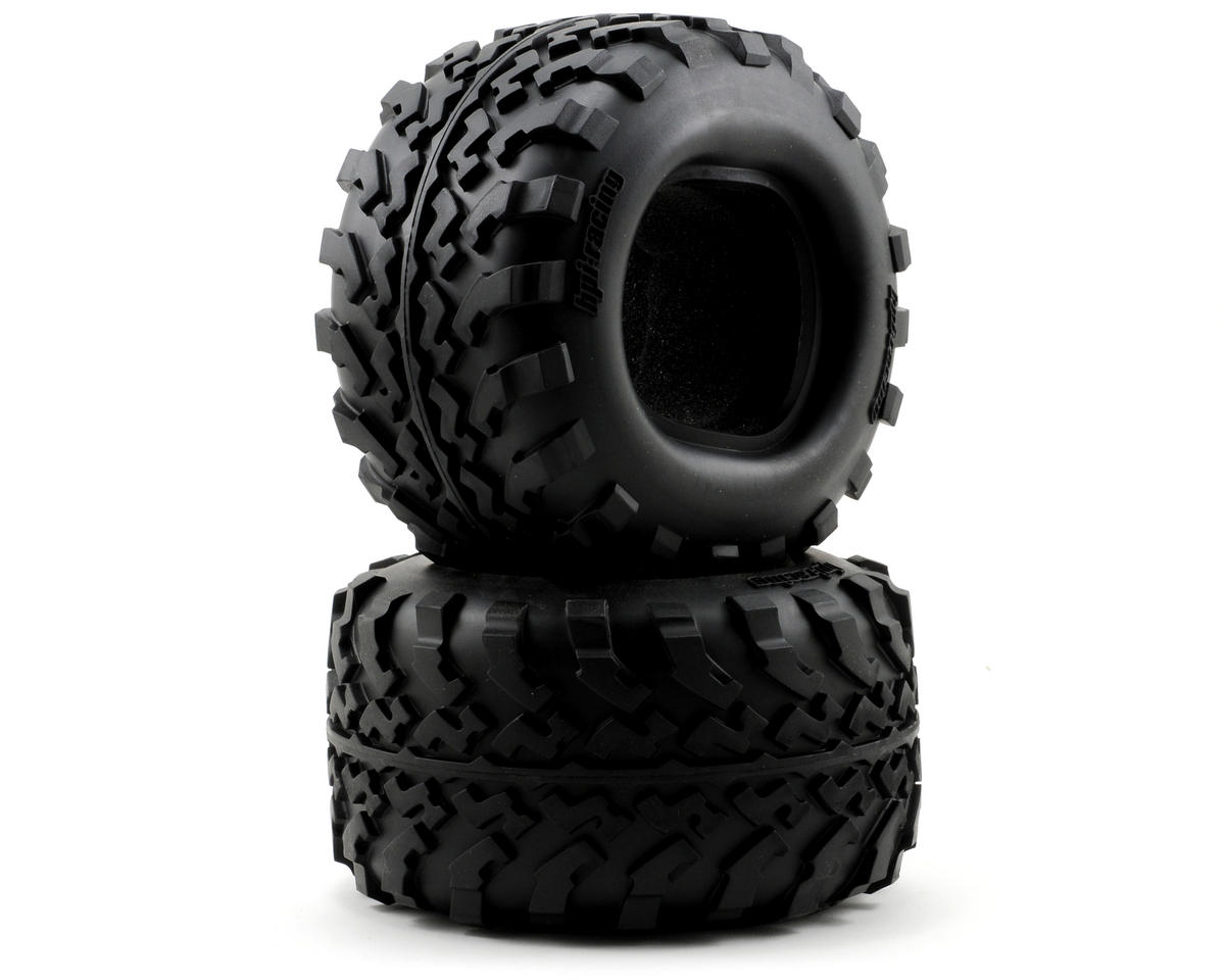 HPI GT2 Tires (160x86mm) (Savage X)