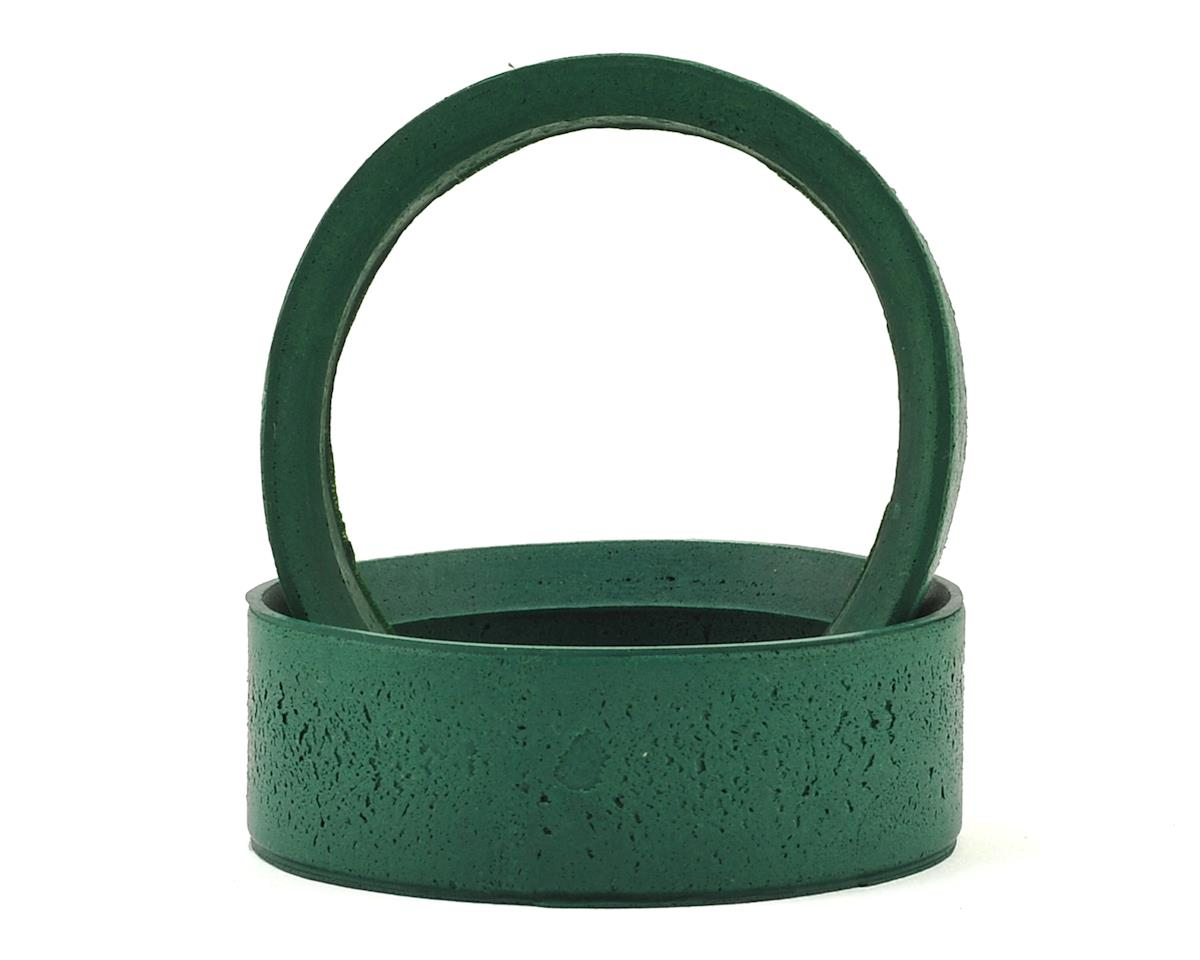 24mm Pro Inner Foam Liner Insert (2) (Medium - Green) by HPI