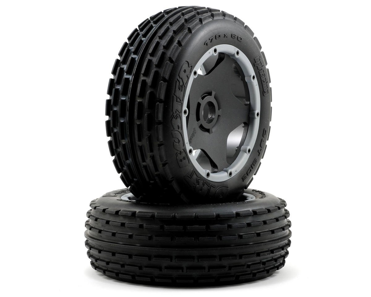 HPI Racing Pre-Mounted Dirt Buster Rib Front Tire w/Black Wheel (2)