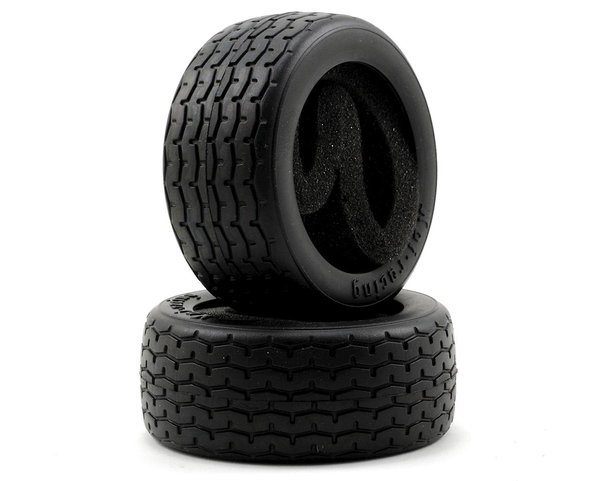 Vintage Racing Tire (D-Compound) (2) (26mm) by HPI