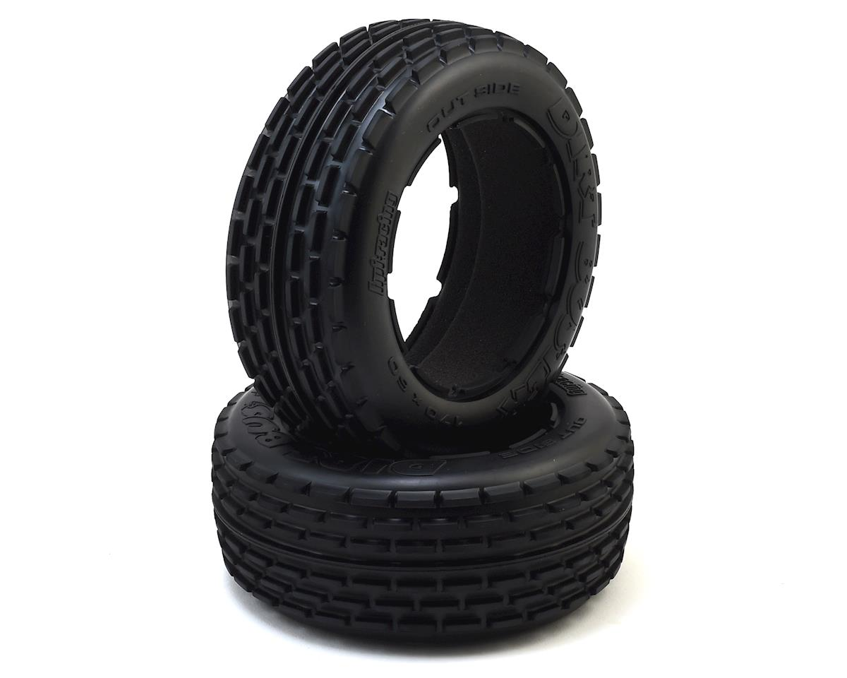 Dirt Buster Rib Front Tire (2) (M Compound) by HPI
