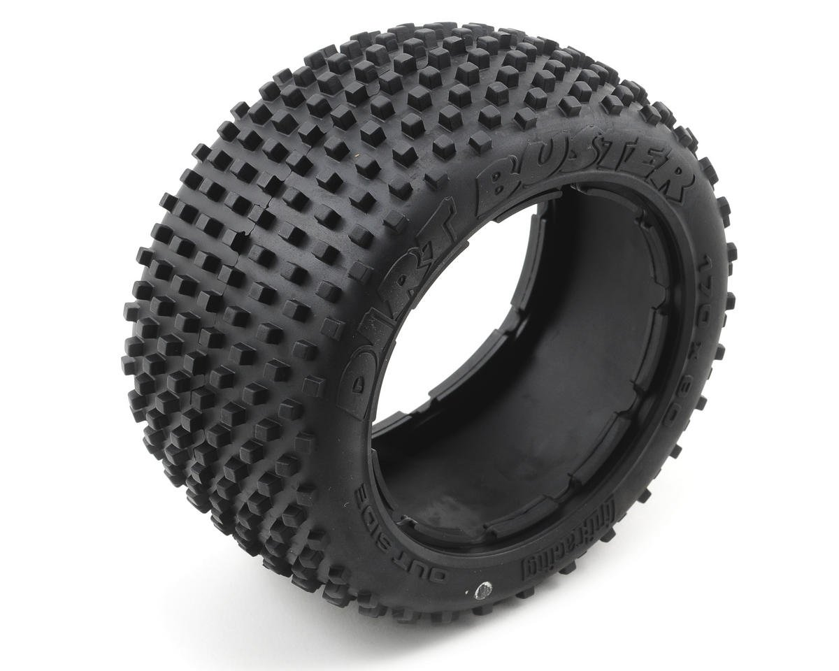 HPI Dirt Buster Block Rear Tire (2) (HD Compound)
