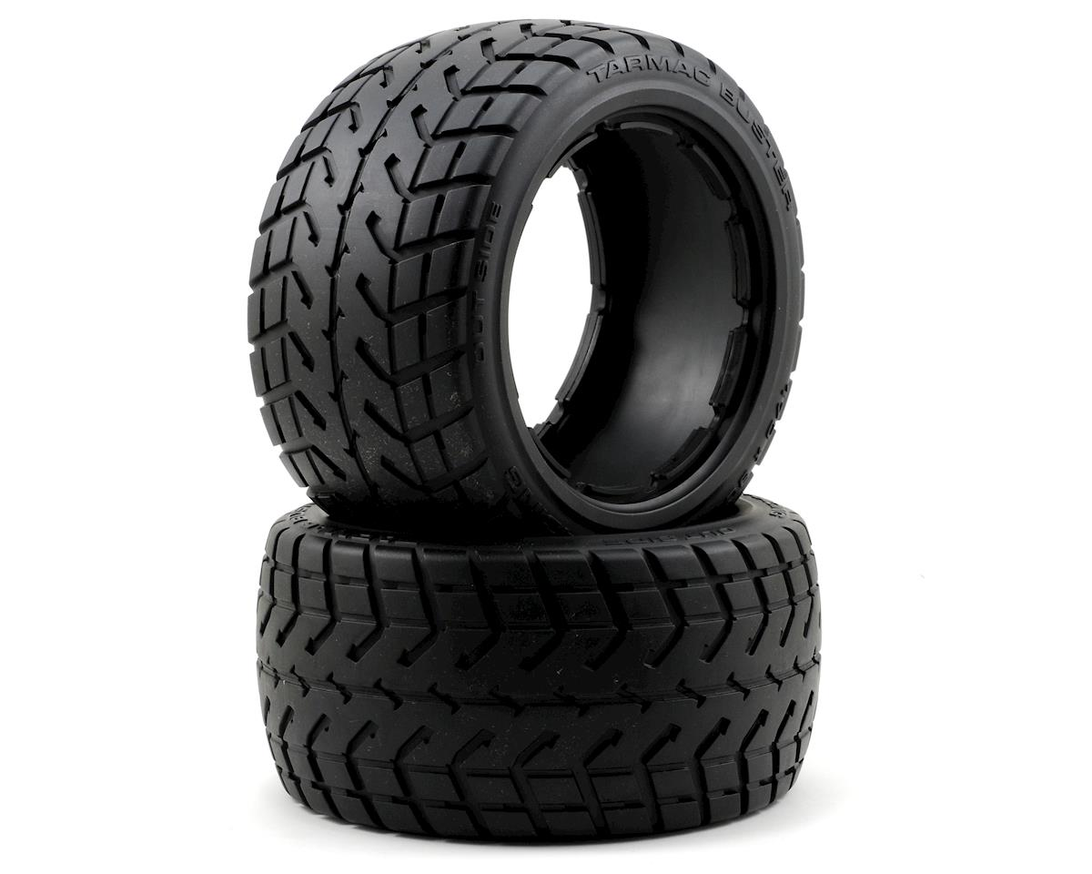 Tarmac Buster Rear Tire (2) (M) by HPI