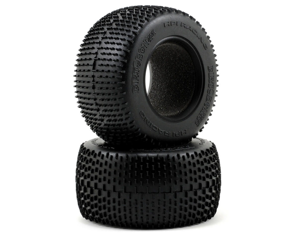 "HPI Savage XS Flux 2.2"" Dirt Bonz Jr. Truck Tire (57x50mm) (2)"