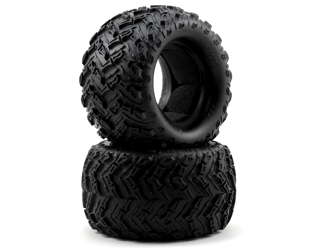 HPI Racing Savage XL Octane Dirt Claws Monster Truck Tire (145x85mm) (2)