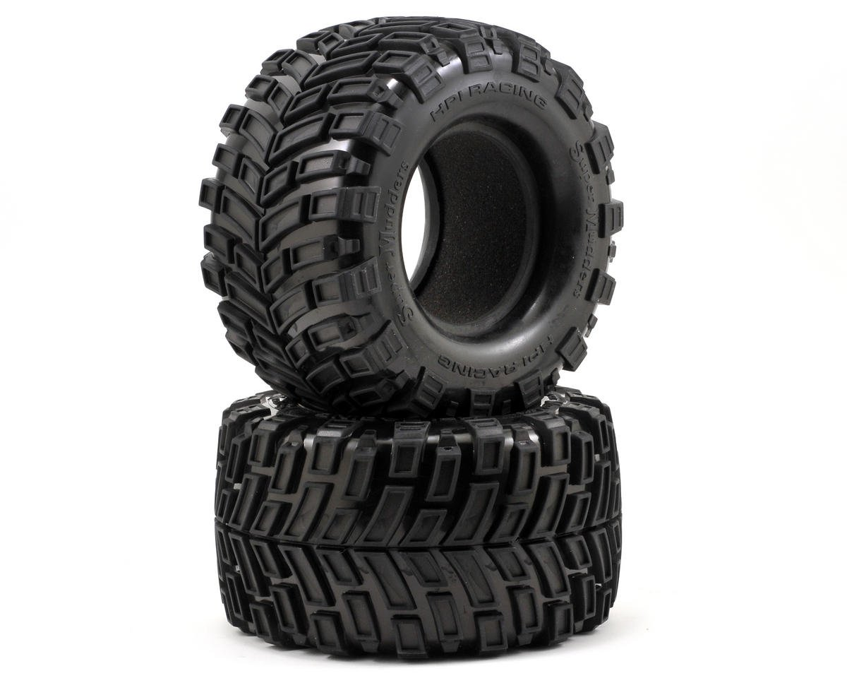 HPI Racing Super Mudders Monster Truck Tire (165x88mm) (2)