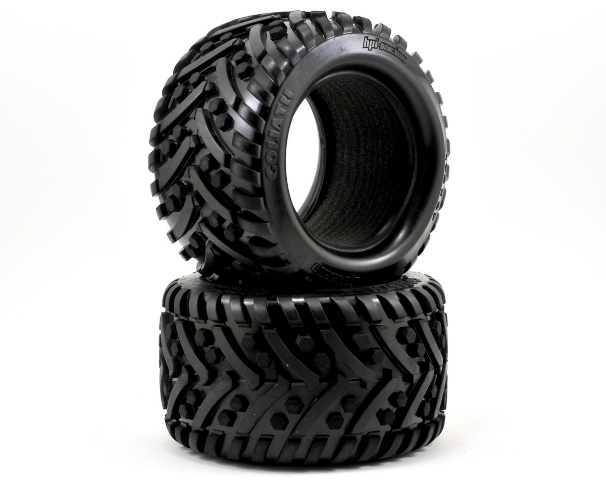 Goliath Monster Truck Tire (178x97mm) (2) by HPI Racing Savage Flux HP