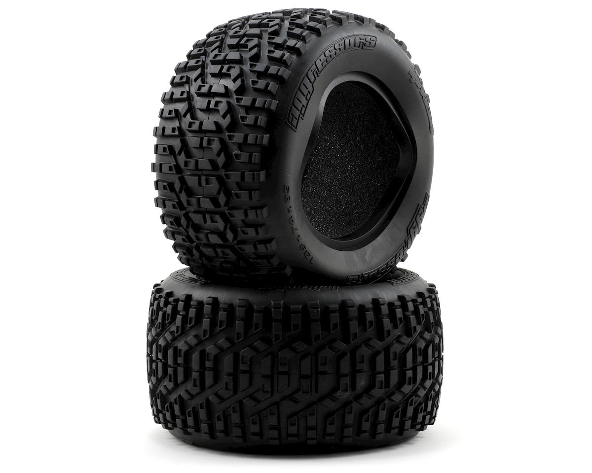 Aggressors Monster Truck Tire (139x74mm) (2) (S) by HPI
