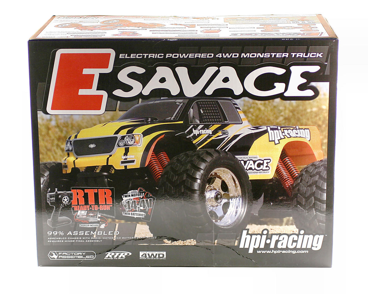 HPI Racing E-Savage Truck with GT Truck Body w/Batteries & Charger