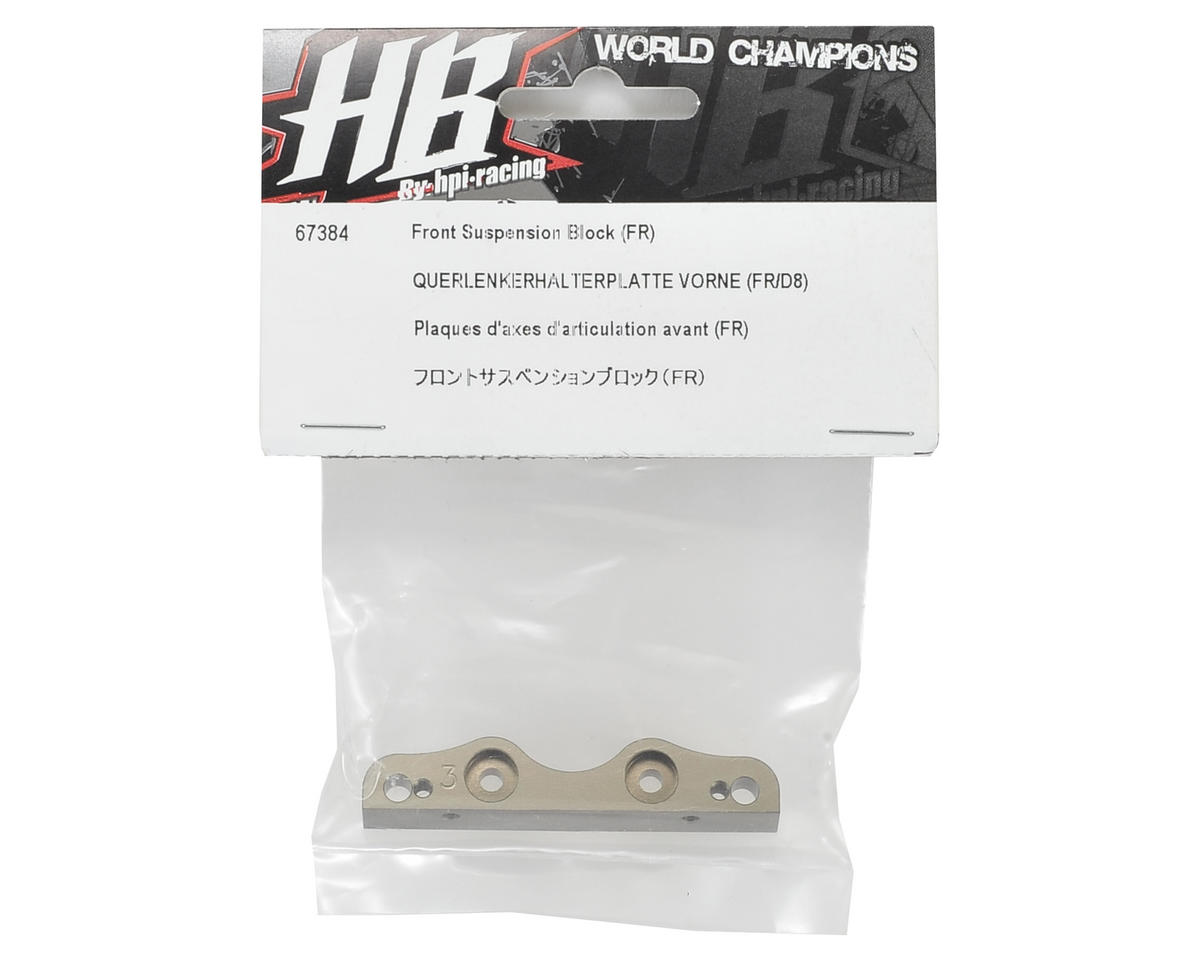 HPI Racing Front Inner Hinge Pin Plate
