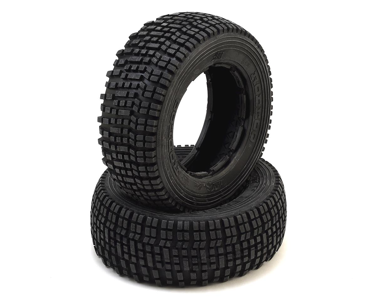 Rodeoo 1/5 Rear Baja Tire (White) (2) by HPI Kraken TSK-B