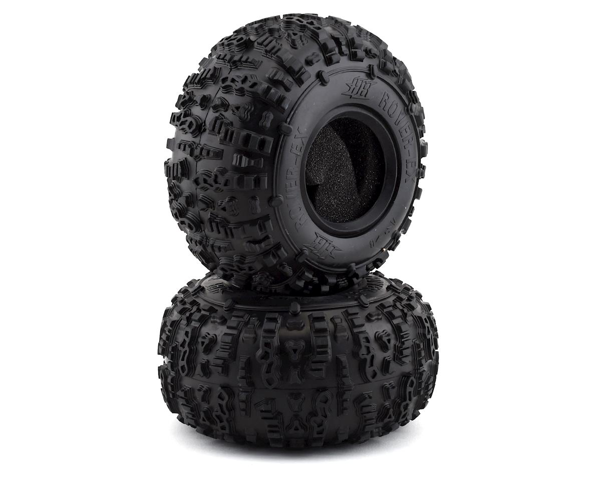 "HPI Crawler King Rover-Ex 2.2"" Rock Tire (2) (Pink)"