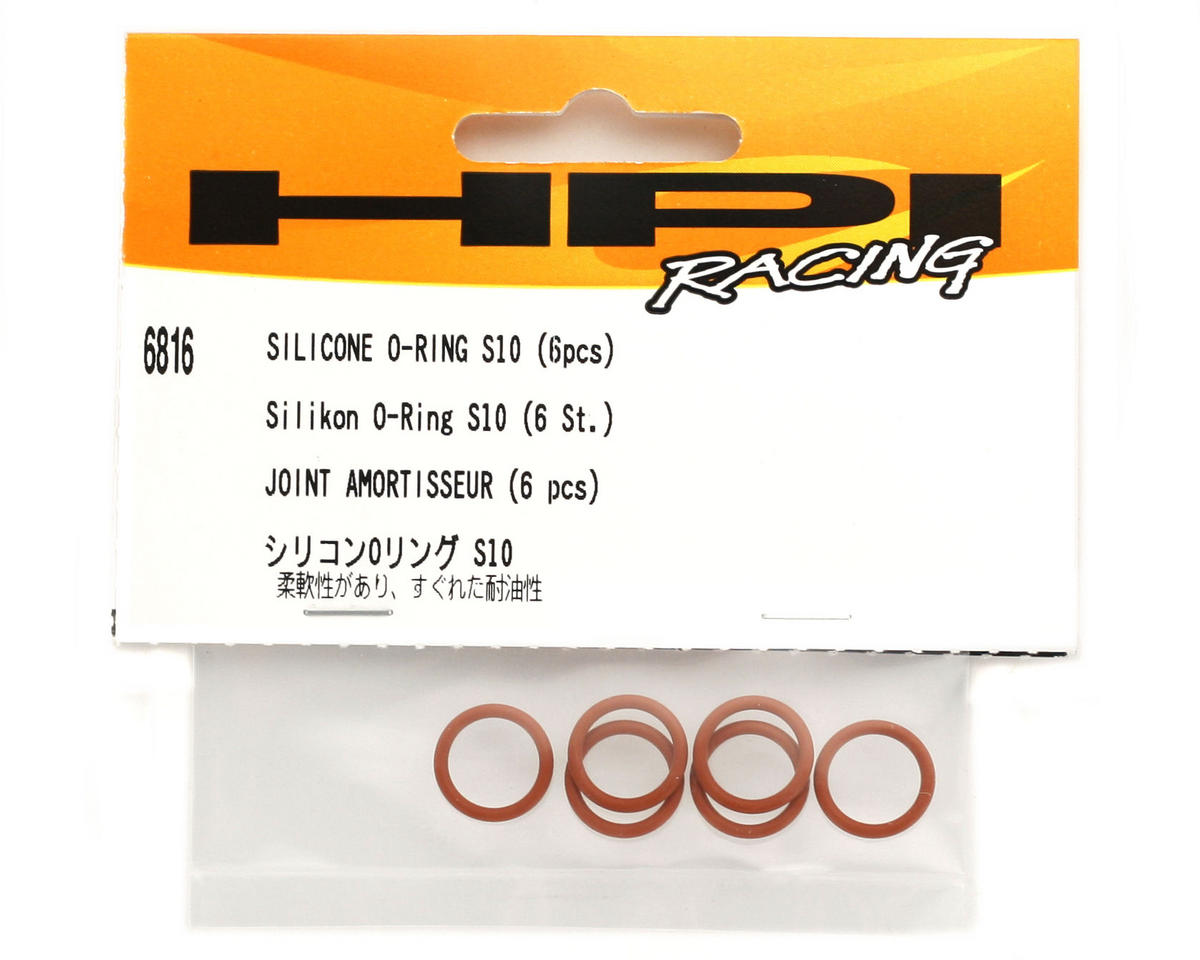 HPI Racing S10 Silicone O-Ring (6)