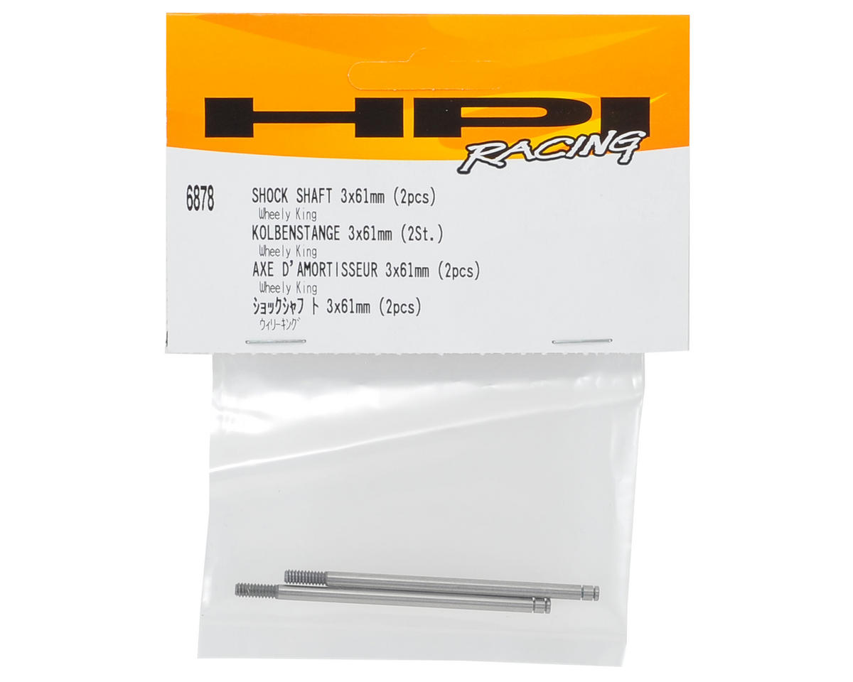 HPI 3x61mm Shock Shaft (2)