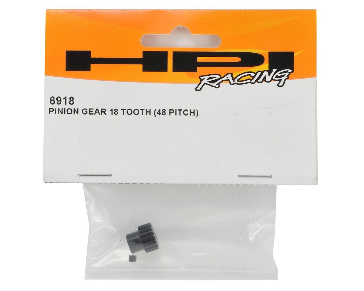 48P Pinion Gear (3.17mm Bore) (18T) by HPI