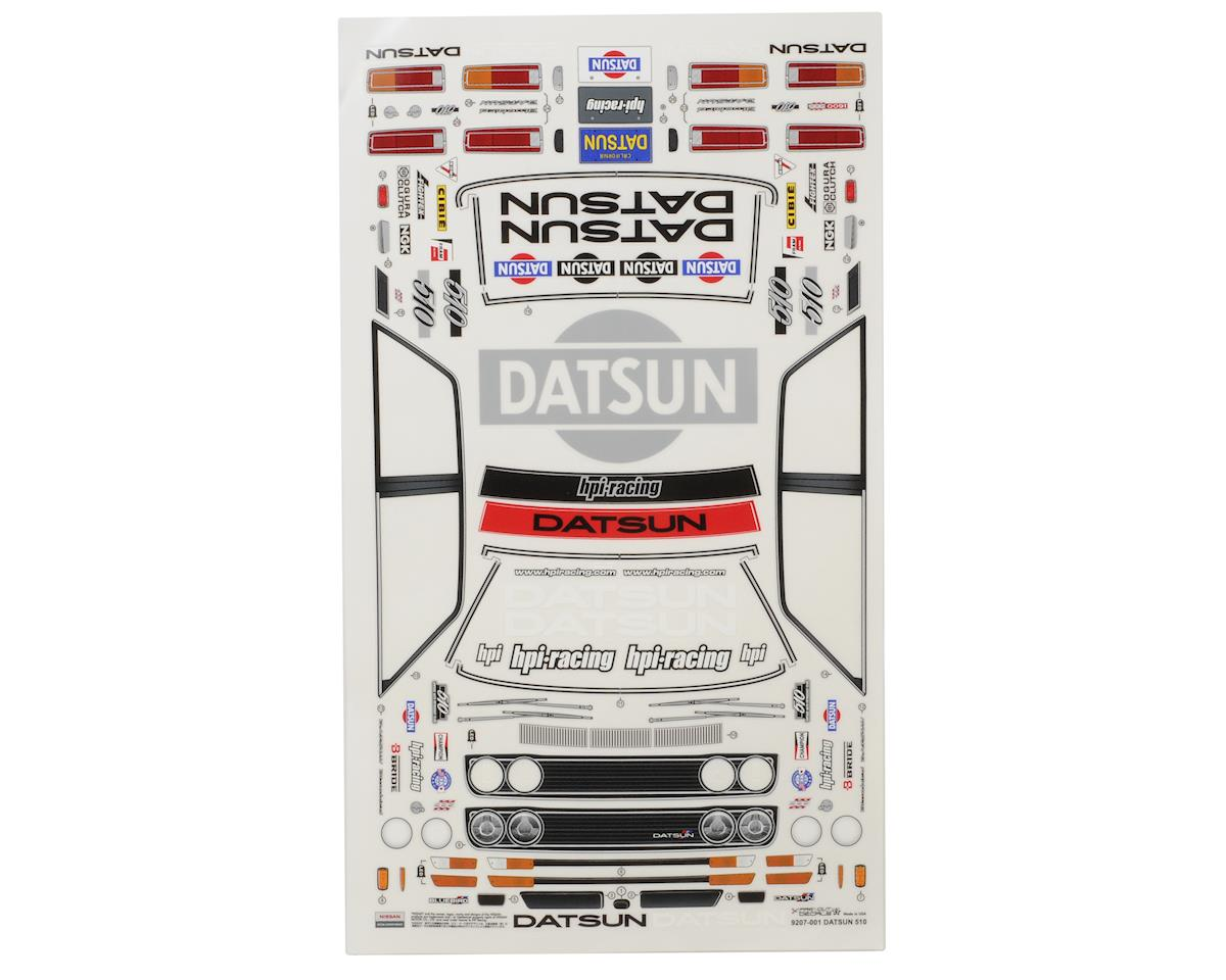 HPI Racing Datsun 510 Cup Racer Body (Clear)