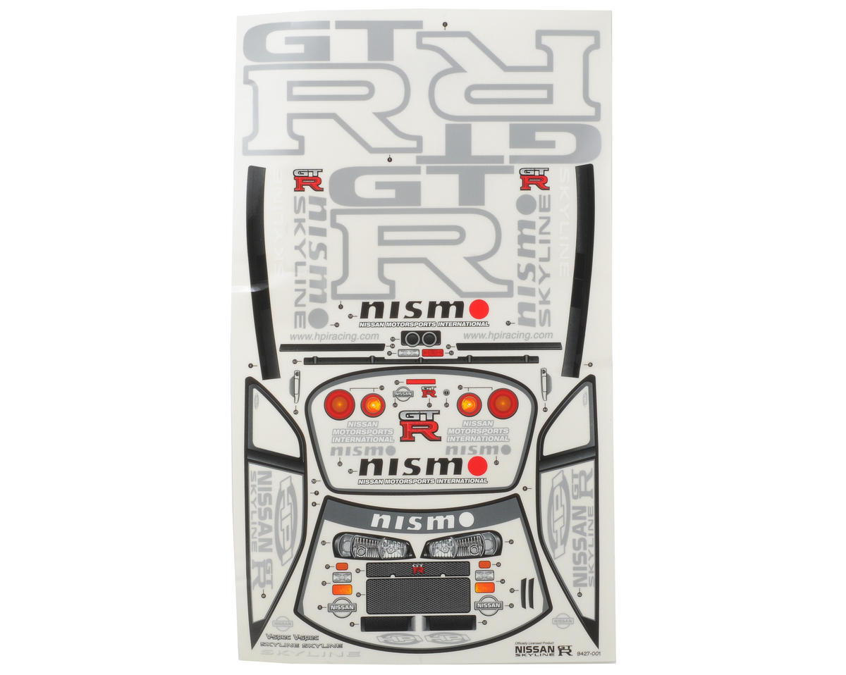HPI Racing Nissan Skyline R34 GT-R Touring Car Body (Clear) (190mm)