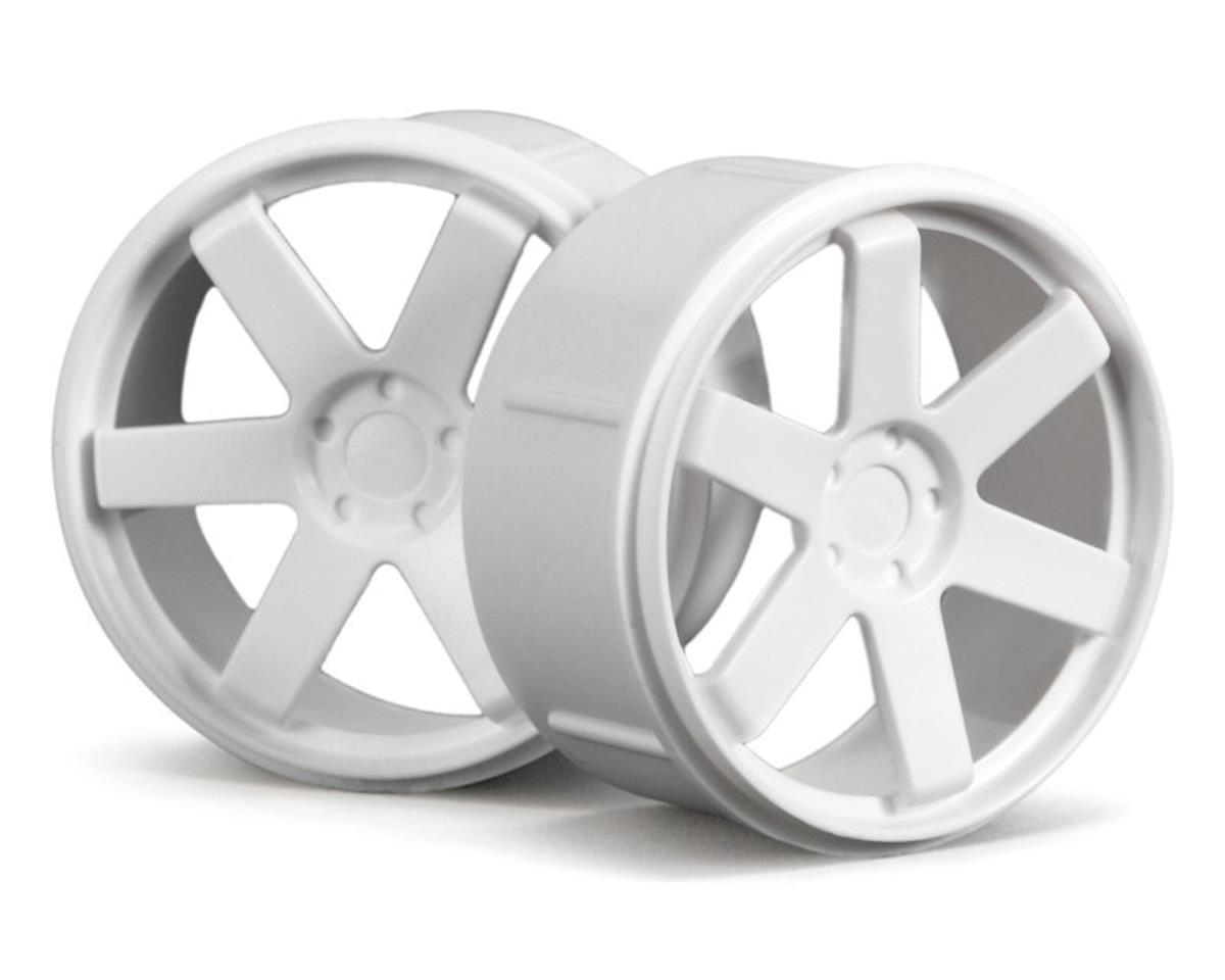 HPI Micro RS4 Wheel Set (White) (3 Sets)