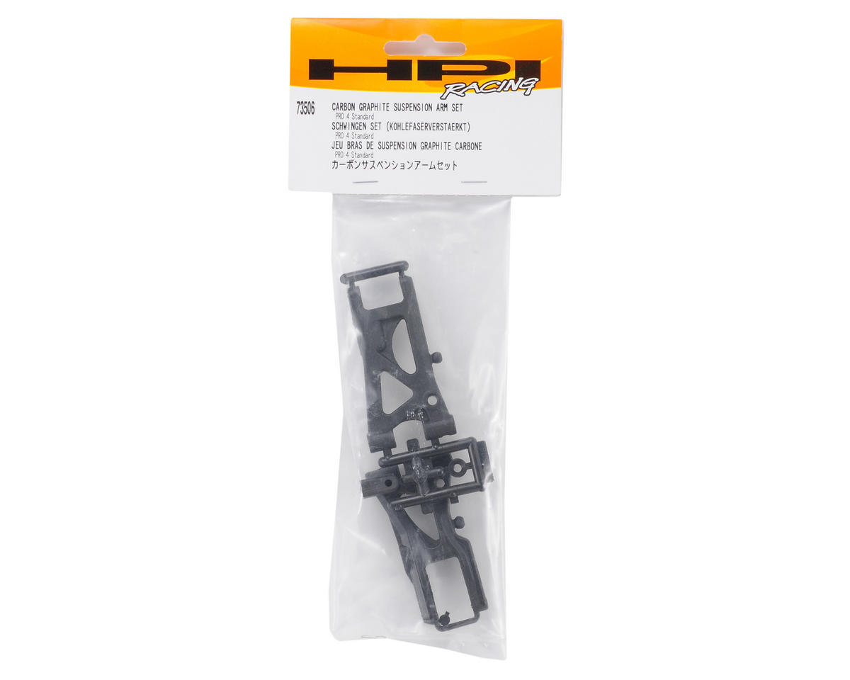 HPI Racing Carbon Graphite Suspension Arm Set (1 Front / 1 Rear)