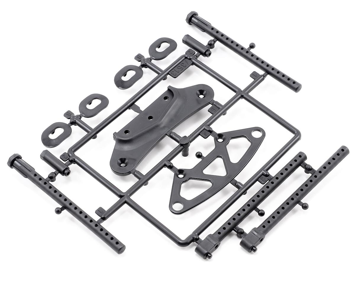 HPI Racing Front Bumper/Body Post Set