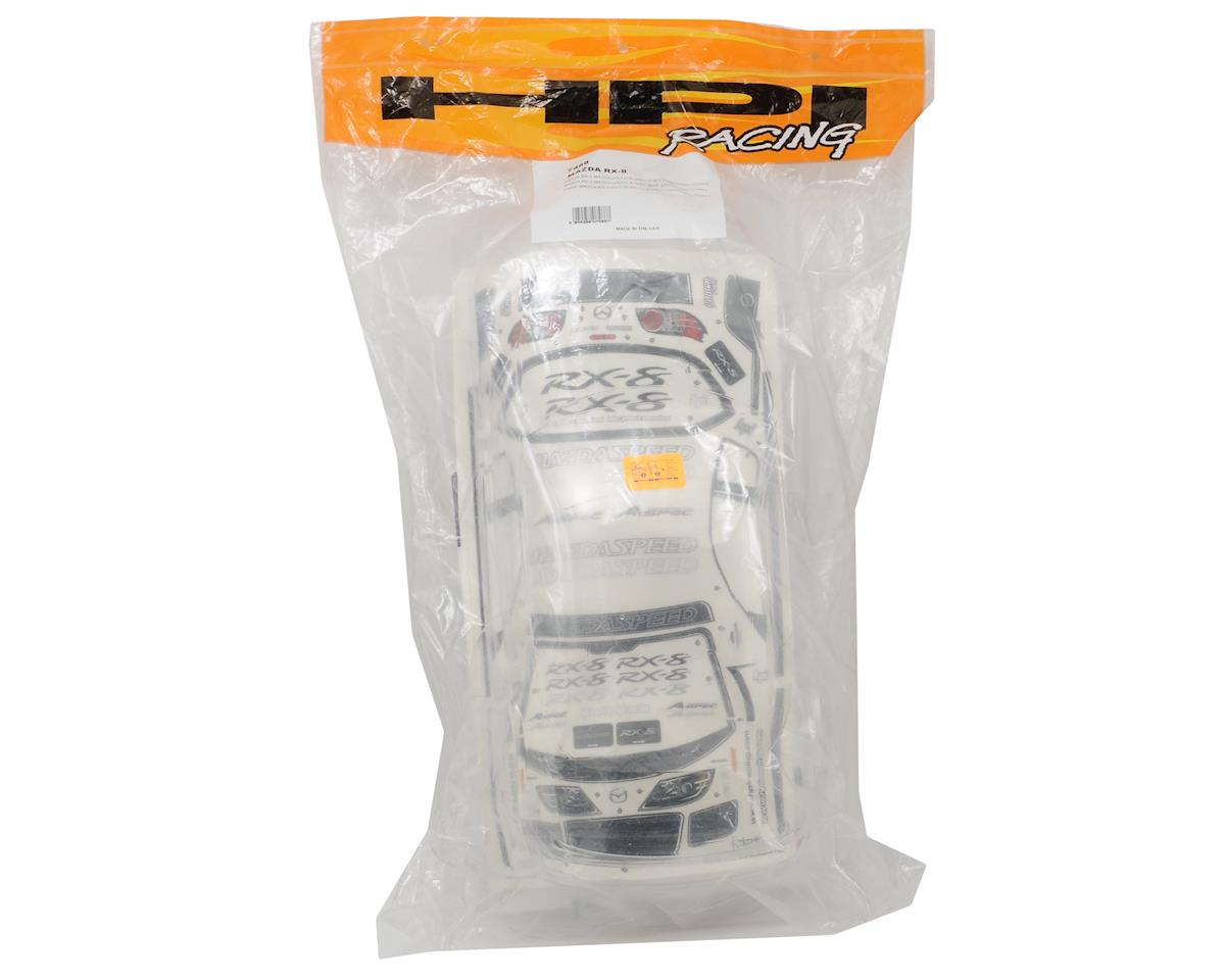 HPI Racing RX-8 Mazdaspeed A-Spec Clear Body (200mm)