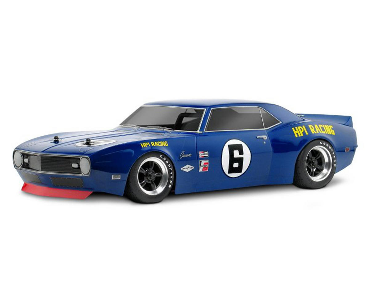 HPI Racing 1968 Chevy Camaro Body (200mm) (Clear)
