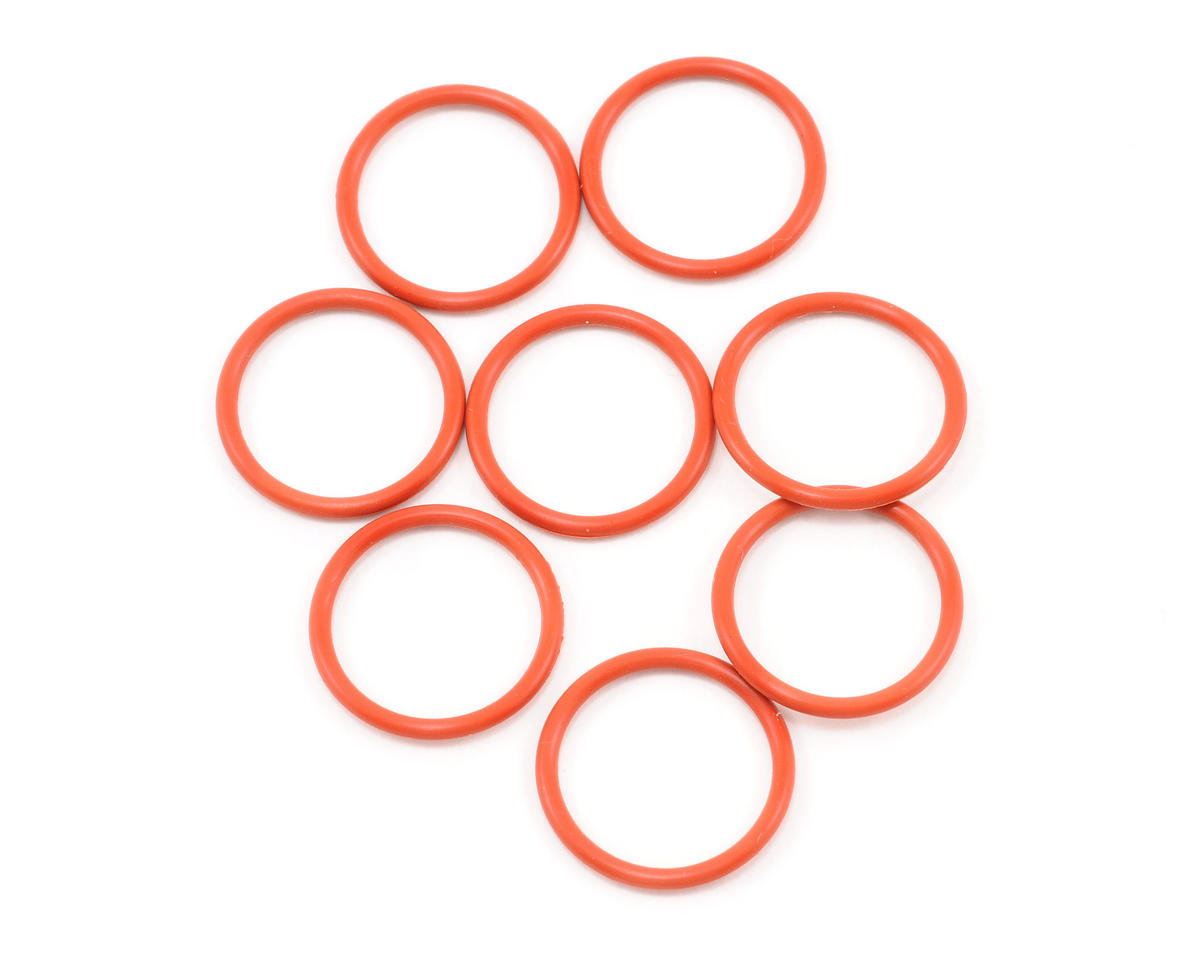 15x1.5mm S15 O-Ring (Orange) (8) by HPI