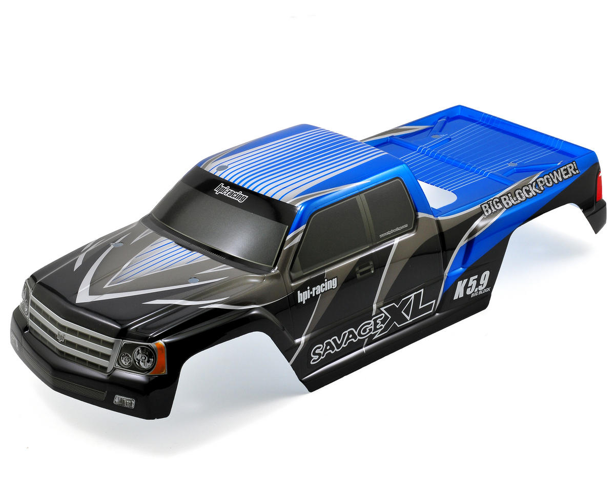"HPI Racing ""GT Gigante"" Pre-Painted Monster Truck Body (Blue)"