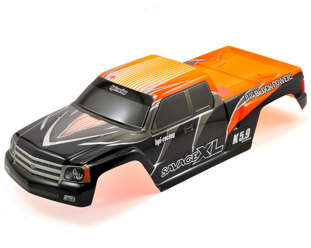 "HPI Racing ""GT Gigante"" Pre-Painted Monster Truck Body (Orange)"