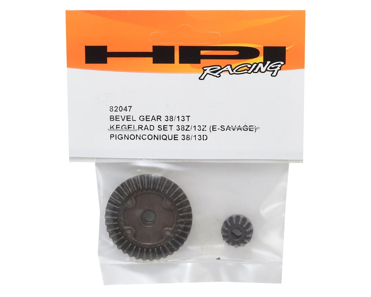HPI E-Savage Bevel Gear Set (38/13T)