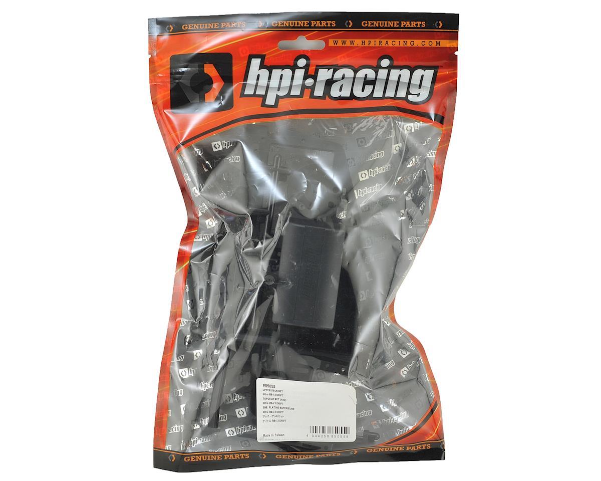 Nitro RS4 3 Drift Upper Deck Set by HPI