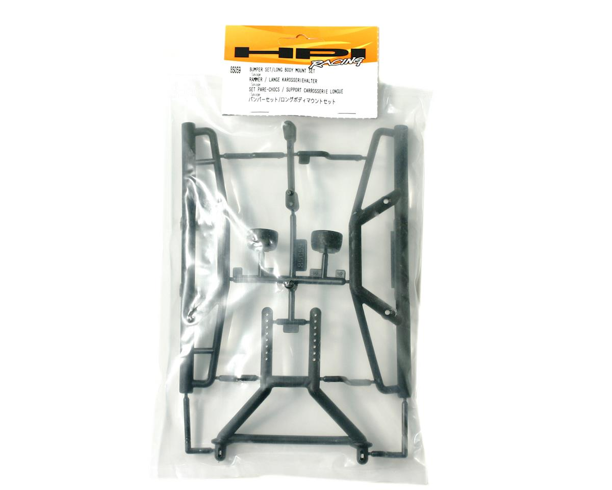 HPI Racing Bumper Set / Long Body Mount Set