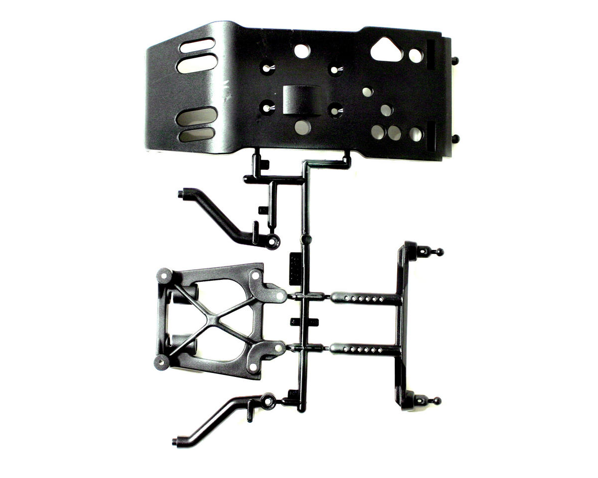 HPI Skid Plate / Body Mount / Shock Tower Set